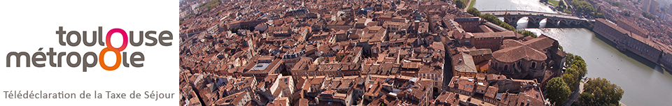 Déclaration de la taxe de séjour Toulouse Métropole
